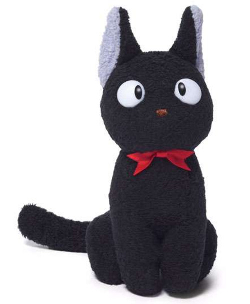Studio Ghibli Kiki's Delivery Service Seated Jiji Plush