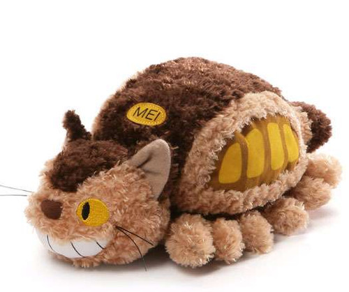 Studio Ghibli My Neighbor Totoro Cat Bus 11-Inch Plush