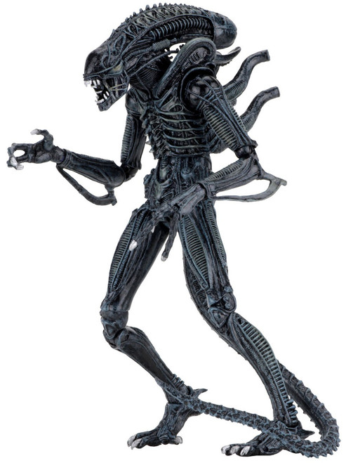 NECA Warrior BLUE Alien Action Figure [Ultimate Version]