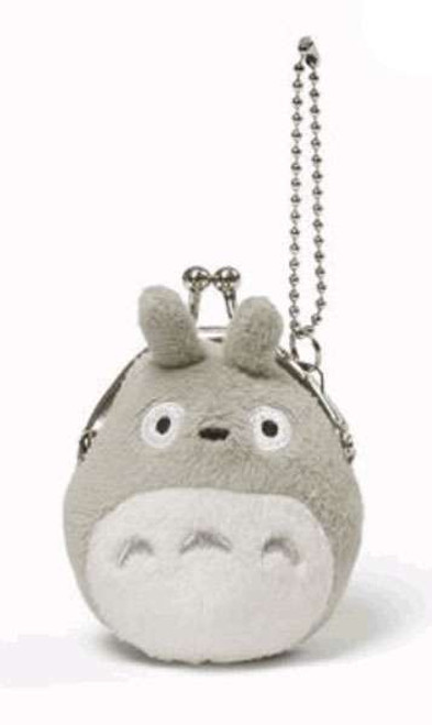 Studio Ghibli Totoro Mini Coin Purse [Grey]