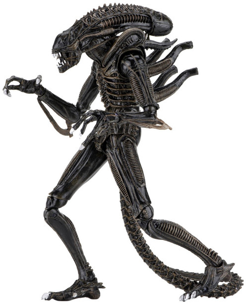 NECA Warrior BROWN Alien Action Figure [Ultimate Version]