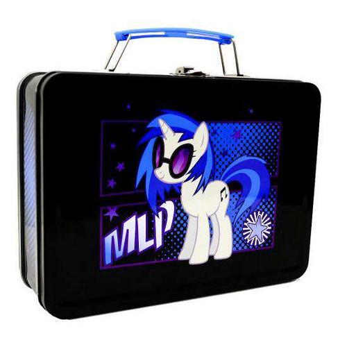 "My Little Pony DJ P0N-3 ""Vinyl Scratch"" Lunch Box [Damaged Package]"