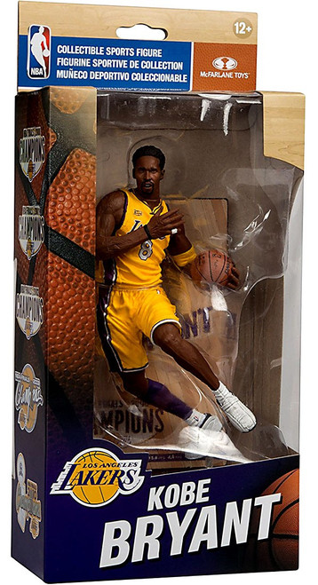 McFarlane Toys NBA Los Angeles Lakers Championship Series Kobe Bryant Action Figure [NBA Finals 2000]