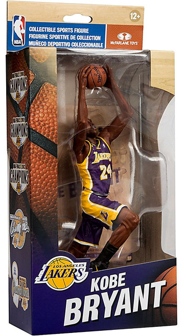 McFarlane Toys NBA Los Angeles Lakers Championship Series Kobe Bryant Action Figure [NBA Finals 2009]