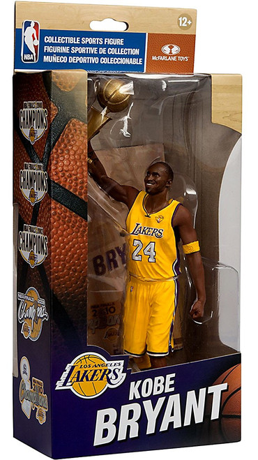 McFarlane Toys NBA Los Angeles Lakers Championship Series Kobe Bryant Action Figure [NBA Finals 2010]