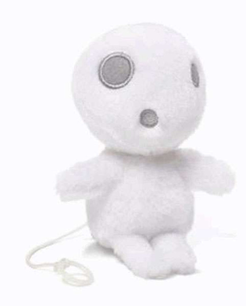 Studio Ghibli Princess Mononoke Kodama 4-Inch Plush [Zip Along]