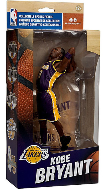 McFarlane Toys NBA Los Angeles Lakers Championship Series Kobe Bryant Action Figure [NBA Finals 2002]