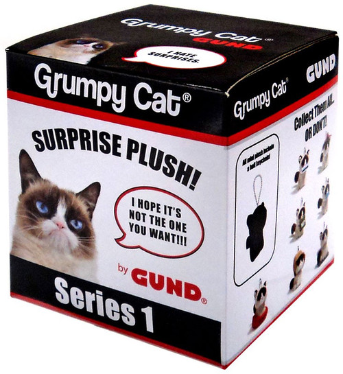 Series 1 Grumpy Cat Mystery Pack [1 RANDOM Mini Plush]
