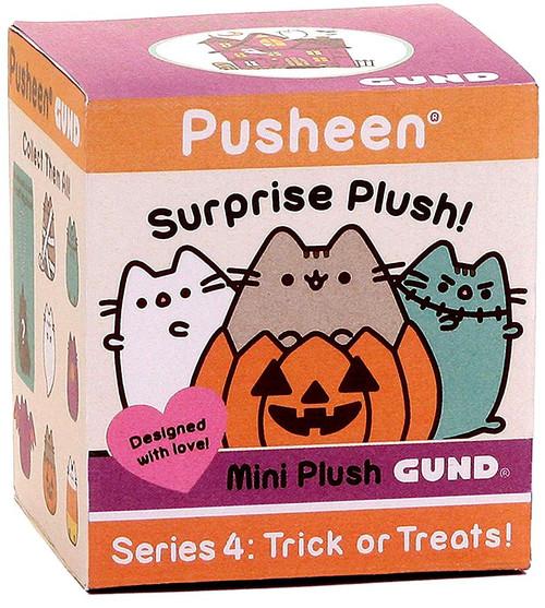 Pusheen Series 4 Trick or Treats Mystery Pack [1 RANDOM Mini Plush]