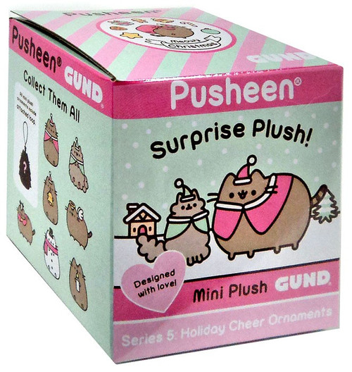 Pusheen Series 5 Holiday Cheer Ornaments Mystery Pack [1 RANDOM Mini Plush]