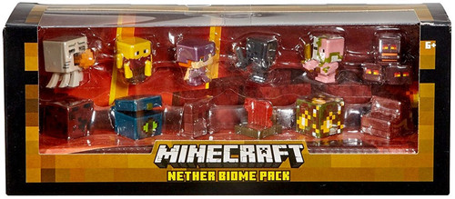 Minecraft Nether Biome Pack Mini Figure 12-Pack