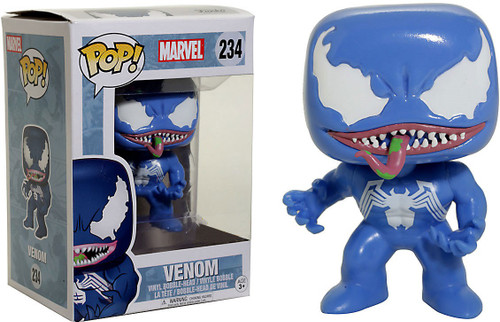 Funko POP! Marvel Venom Exclusive Vinyl Bobble Head #234 [Blue Version]