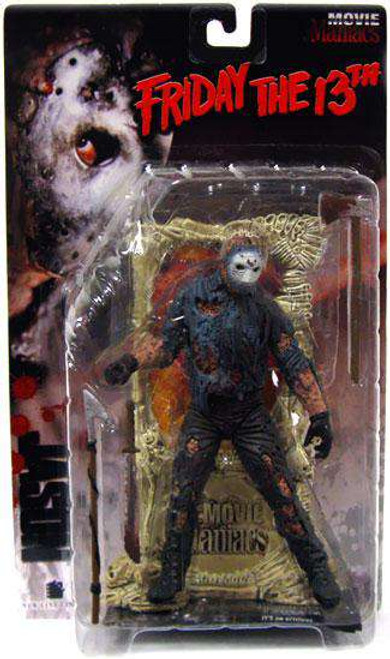 McFarlane Toys Friday the 13th Movie Maniacs Series 1 Jason Voorhees Action Figure [Damaged Package]