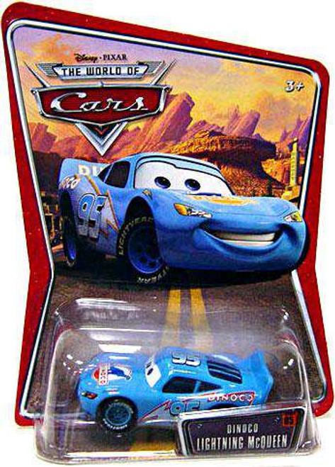 Disney / Pixar Cars The World of Cars Dinoco Lightning McQueen Diecast Car [Damaged Package]