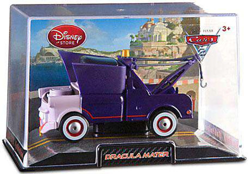 Disney / Pixar Cars Cars 2 1:43 Collectors Case Dracula Mater Exclusive Diecast Car [Damaged Package]