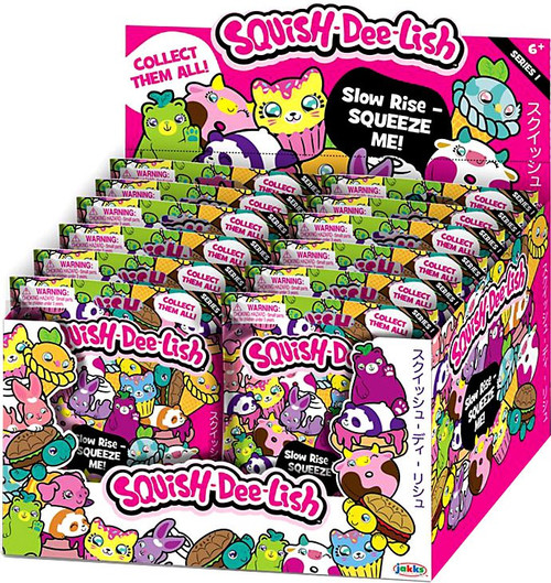 Squish-Dee-Lish Series 1 Mystery Box [12 Packs]