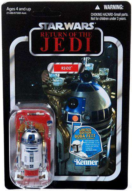 Star Wars Return of the Jedi 2011 Vintage Collection R2-D2 Action Figure #25 [Lightsaber & Drink Tray, Damaged Package]
