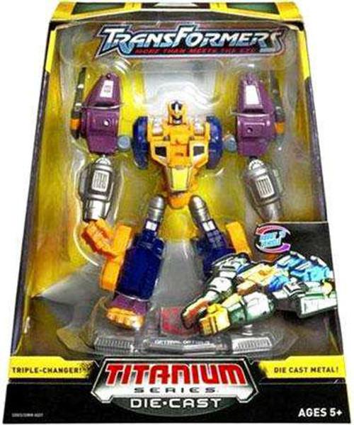 "Transformers Beast Wars TItanium Series Optimal Optimus 6-Inch 6"" Diecast Figure [Damaged Package]"