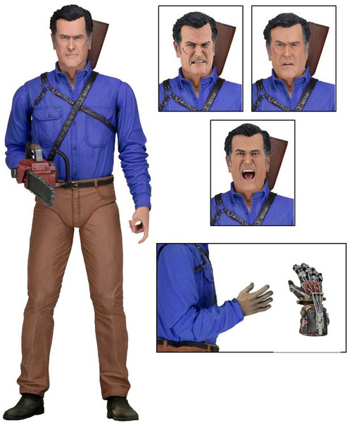 NECA Ash Vs. Evil Dead Ash Action Figure [Ultimate Version, Starz TV Channel]