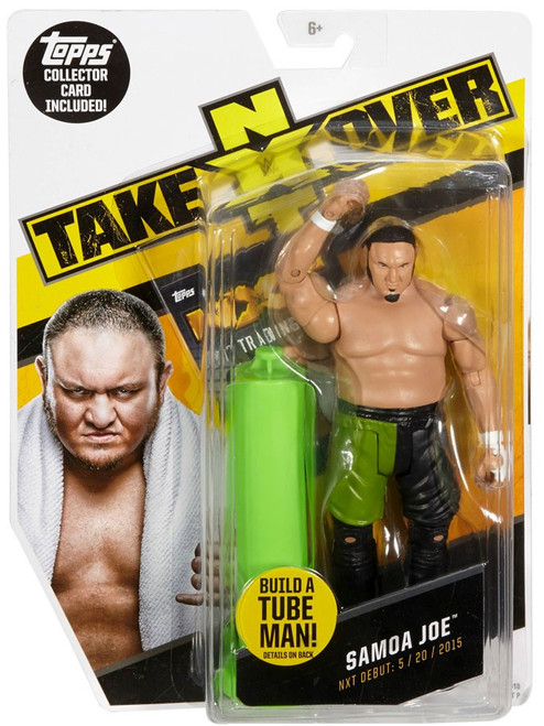 WWE Wrestling NXT Takeover Samoa Joe Exclusive Action Figure [Build A Tube Man!]