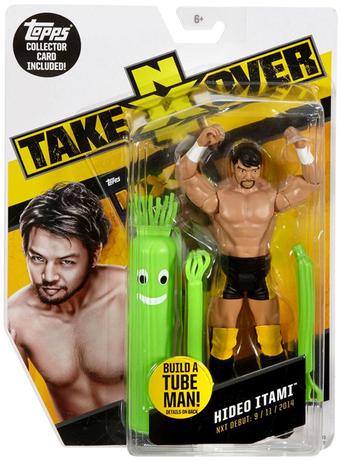 WWE Wrestling NXT Takeover Hideo Itami Exclusive Action Figure [Build A Tube Man!]