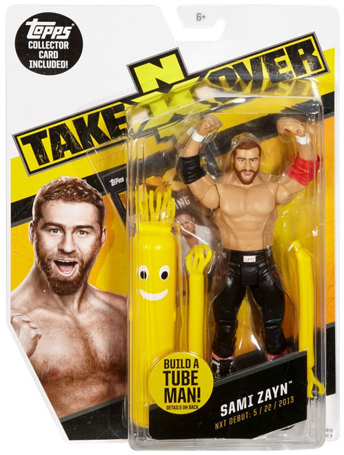 WWE Wrestling NXT Takeover Sami Zayn Exclusive Action Figure [Build A Tube Man!]