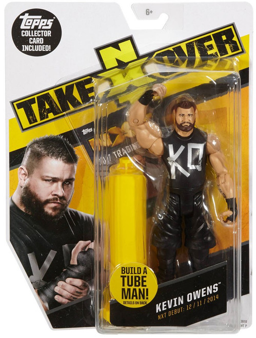 WWE Wrestling NXT Takeover Kevin Owens Exclusive Action Figure [Build A Tube Man!]