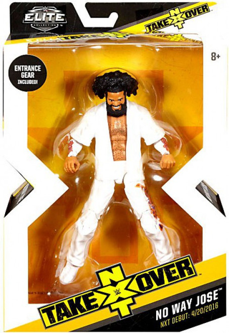 WWE Wrestling Elite NXT Takeover No Way Jose Exclusive Action Figure [Entrance Gear]