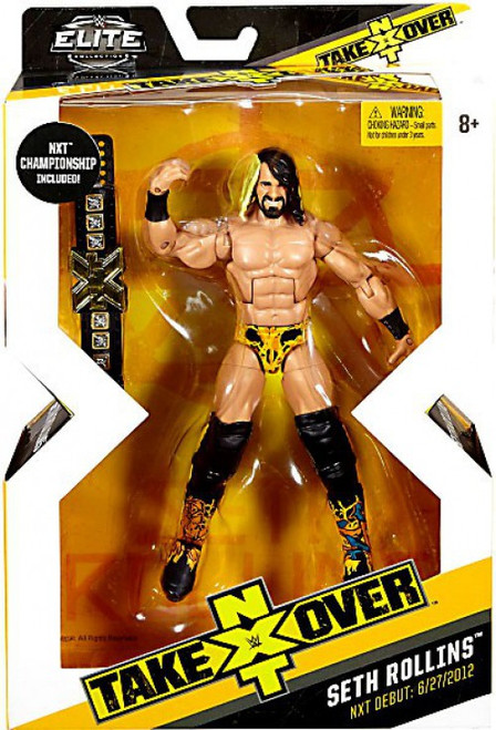 WWE Wrestling Elite NXT Takeover Seth Rollins Exclusive Action Figure [NXT Championship Belt]