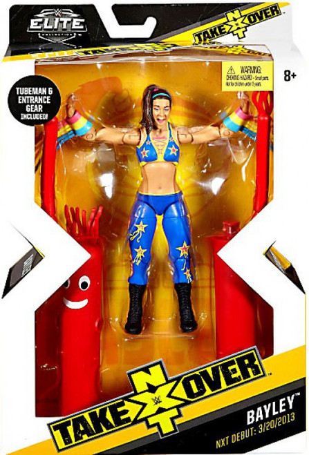 WWE Wrestling Elite NXT Takeover Bayley Action Figure [Tubeman & Entrance Gear]