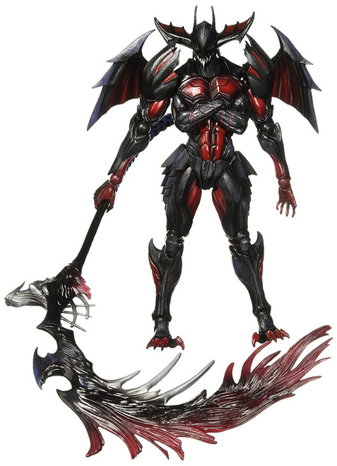 Monster Hunter: Ultimate 4 Play Arts Kai Diablos Armor Action Figure [Rage Set]