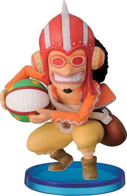One Piece WCF Fight Dressrosa Usopp 2.5-Inch Collectible Figure DR09