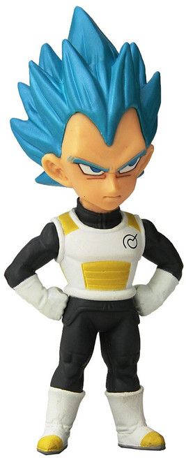 Dragon Ball Z WCF Z-Warriors Super Saiyan Blue Vegeta 2.5-Inch Collectible Figure F02 [Resurrection 'F']