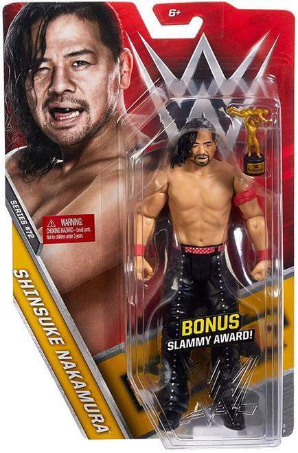 WWE Wrestling Series 72 Shinsuke Nakamura Action Figure [Bonus Slammy Award]