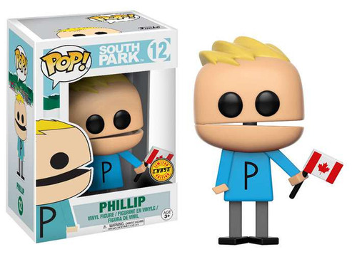 Funko South Park POP! TV Phillip Vinyl Figure #12 [Canadian Flag Chase Version]