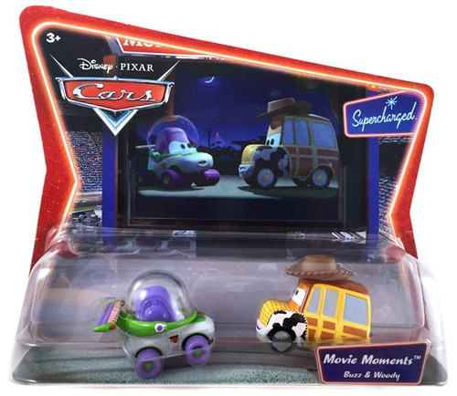 Toy Story Supercharged Movie Moments Buzz & Woody Diecast Car 2-Pack