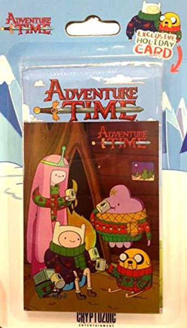 Adventure Time Trading Cards [Exclusive Holiday Card]