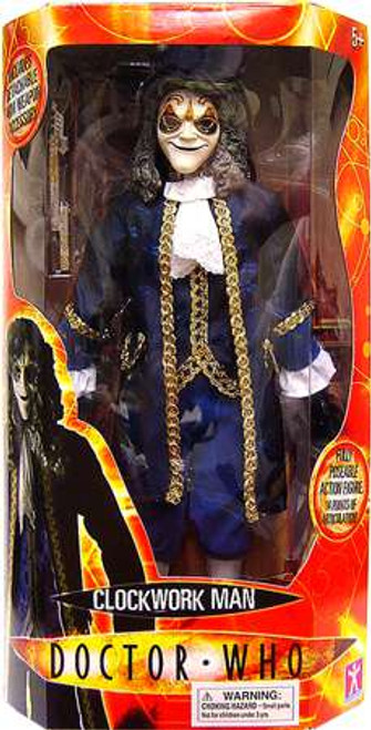 Doctor Who Clockwork Man 12-Inch Collectible Figure [Blue, Damaged Package]