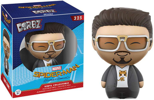 Funko Marvel Spider-Man Dorbz Tony Stark Exclusive Vinyl Figure #325