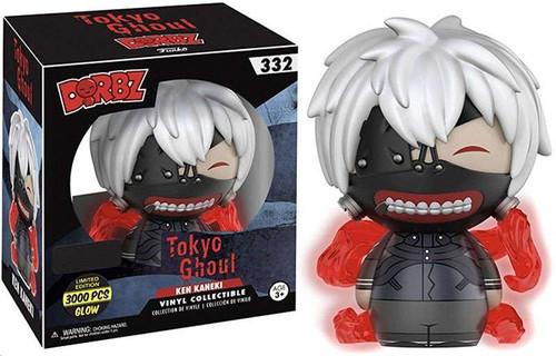 Funko Tokyo Ghoul Dorbz Ken Kaneki Exclusive Vinyl Figure #332 [Glow in the Dark]