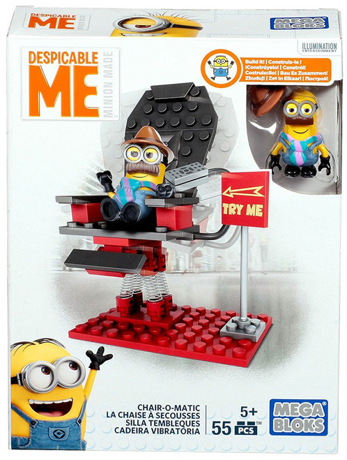 Mega Bloks Despicable Me Minion Made Chair-O-Matic Set DKY84