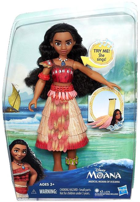 Disney Moana Musical Moana of Oceania Doll