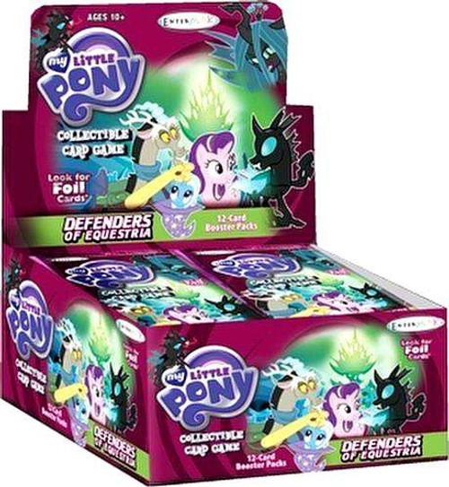 My Little Pony Friendship is Magic Defenders of Equestria Booster Box [36 Packs]