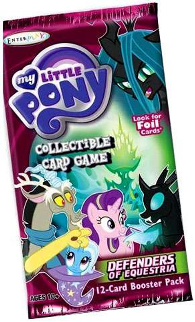 My Little Pony Friendship is Magic Defenders of Equestria Booster Pack [12 Cards]