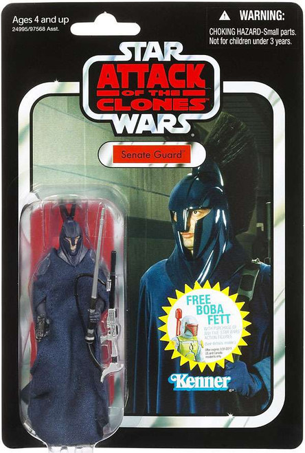 Star Wars Attack of the Clones 2011 Vintage Collection Senate Guard Action Figure #36 [Damaged Package]