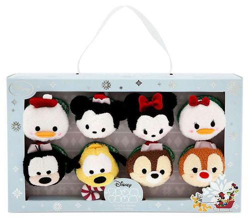 Disney Holiday Tsum Tsum Mickey Mouse & Friends Exclusive 3.5-Inch Mini Plush [Damaged Package]