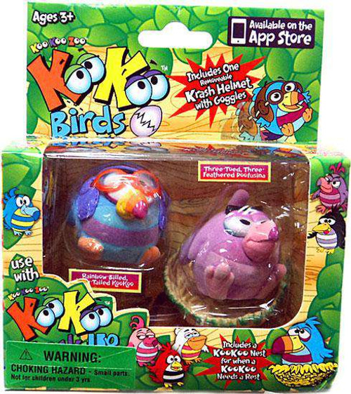 Kooollectibles KooKoo Birds Mini Figure 2-Pack [RANDOM Birds, Damaged Package]