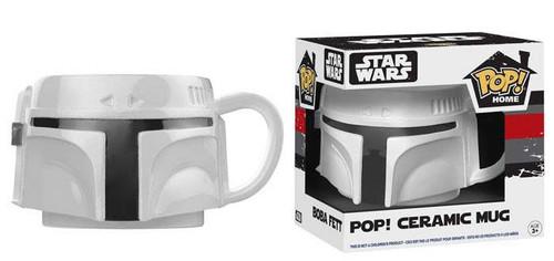 Funko Star Wars POP! Home Boba Fett Ceramic Mug [Prototype White]
