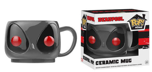 Funko Marvel POP! Home Deadpool Ceramic Mug [Gray]