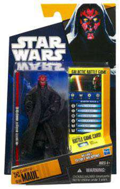 Star Wars Phantom Menace Saga Legends 2010 Darth Maul Action Figure SL08 [Damaged Package]